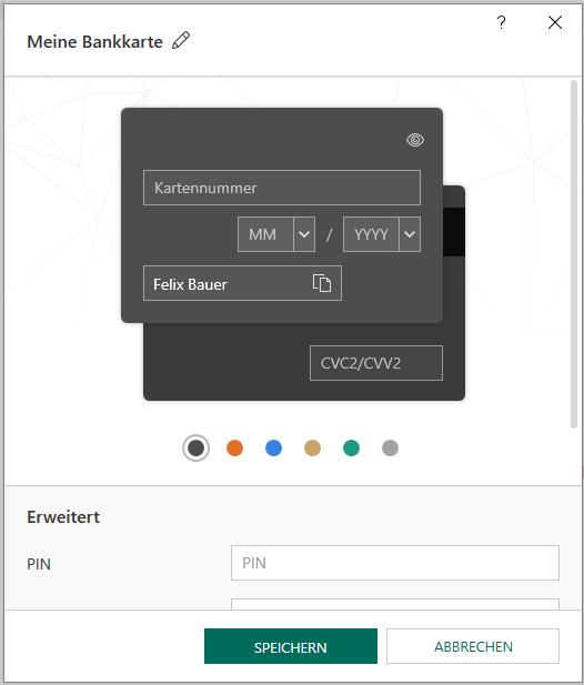 Kaspersky Bankkarte