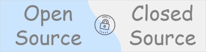 Sicherheit Open Source und Closed Source
